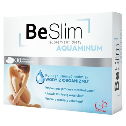 Be Slim Aquaminum - 30 tabletek