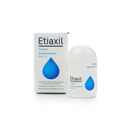 ETIAXIL ORIGINAL Antyperspirant płyn - 15 ml