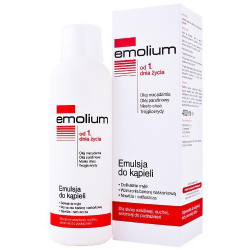 Emolium emulsja do kąpieli od 1 dnia 400 ml