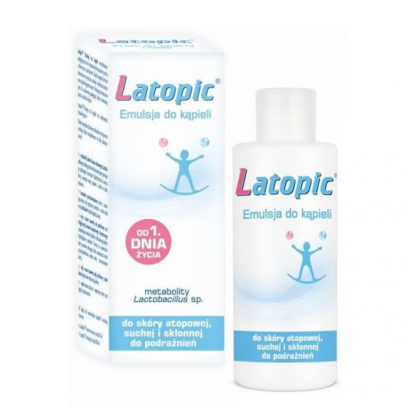 LATOPIC Emulsja do kąpieli - 200 ml