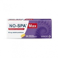 NO-SPA MAX 80 mg - 20 tabletek