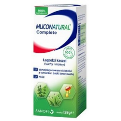 Muconatural Complete syrop od 1 roku - 128 g