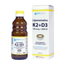Liposomalna witamina D3 + K2 250ml