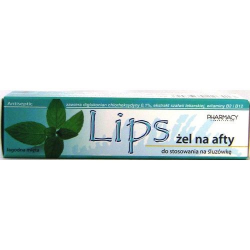 Lips żel na afty 10 ml