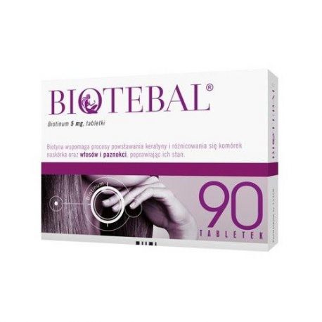 Biotebal 5 mg x 30 tabl