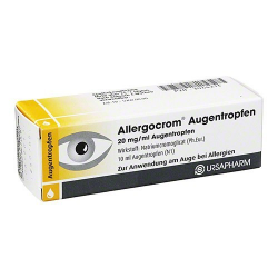 Allergocrom krople do oczu 20 mg/ml 10 ml