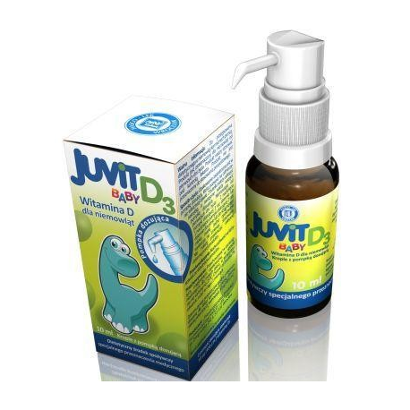 Juvit baby d3 krople doustne 10 ml
