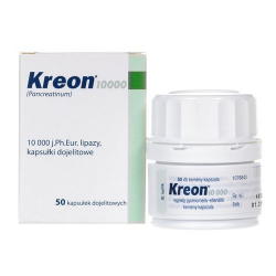 Kreon 10.000j 150 mg x 50 kaps