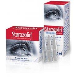 STARAZOLIN Krople do oczu 0,05% 2x5 ml - 10 ml
